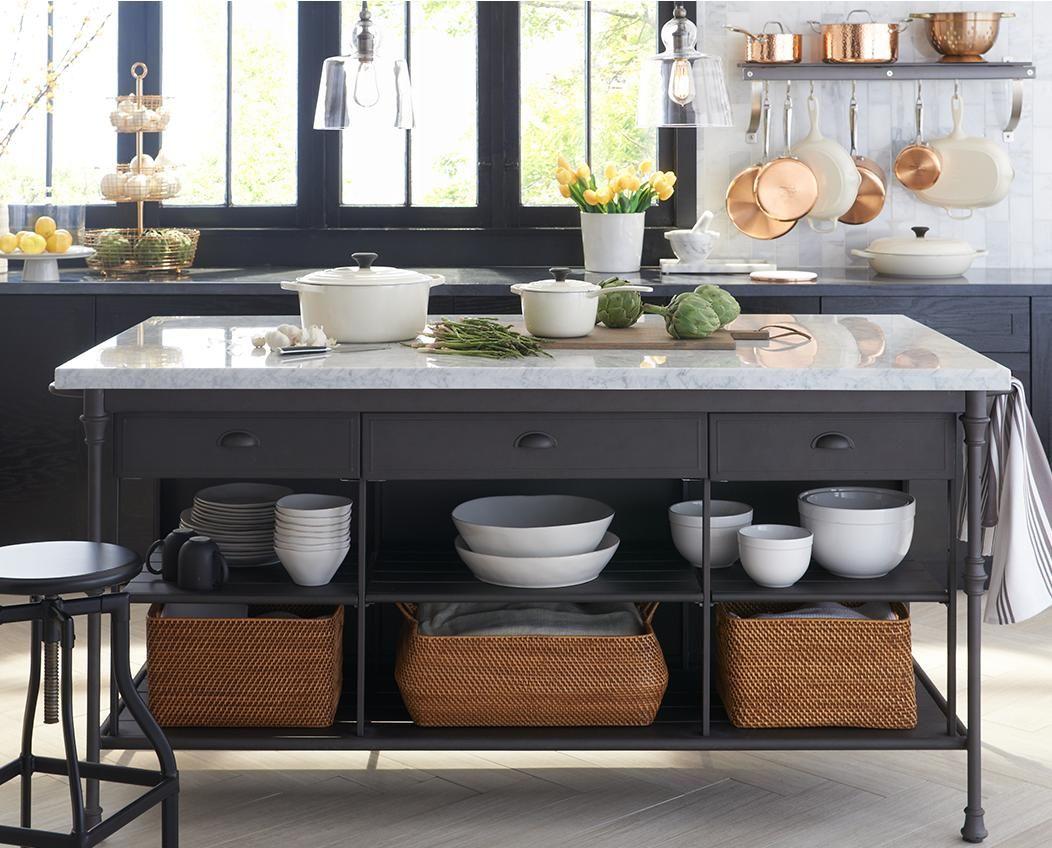 Flooring Idea Freestanding Kitchen Island Kitchen Island Storage Home Kitchens