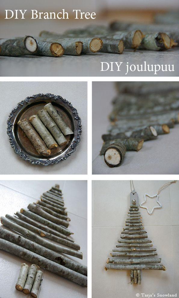 Tarja's Snowland / DIY twig tree