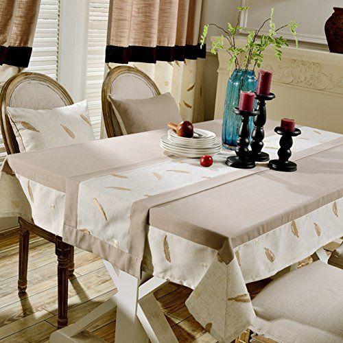 Small Floral Table Cloth Decorative Square Garden Fresh Art