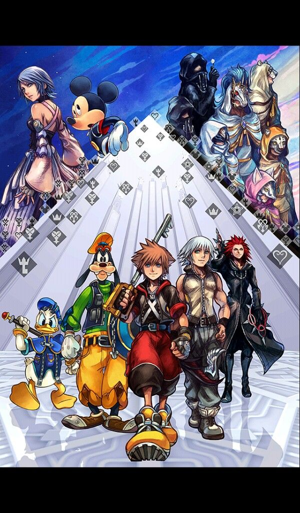 Key art khux (With images) Kingdom hearts wallpaper
