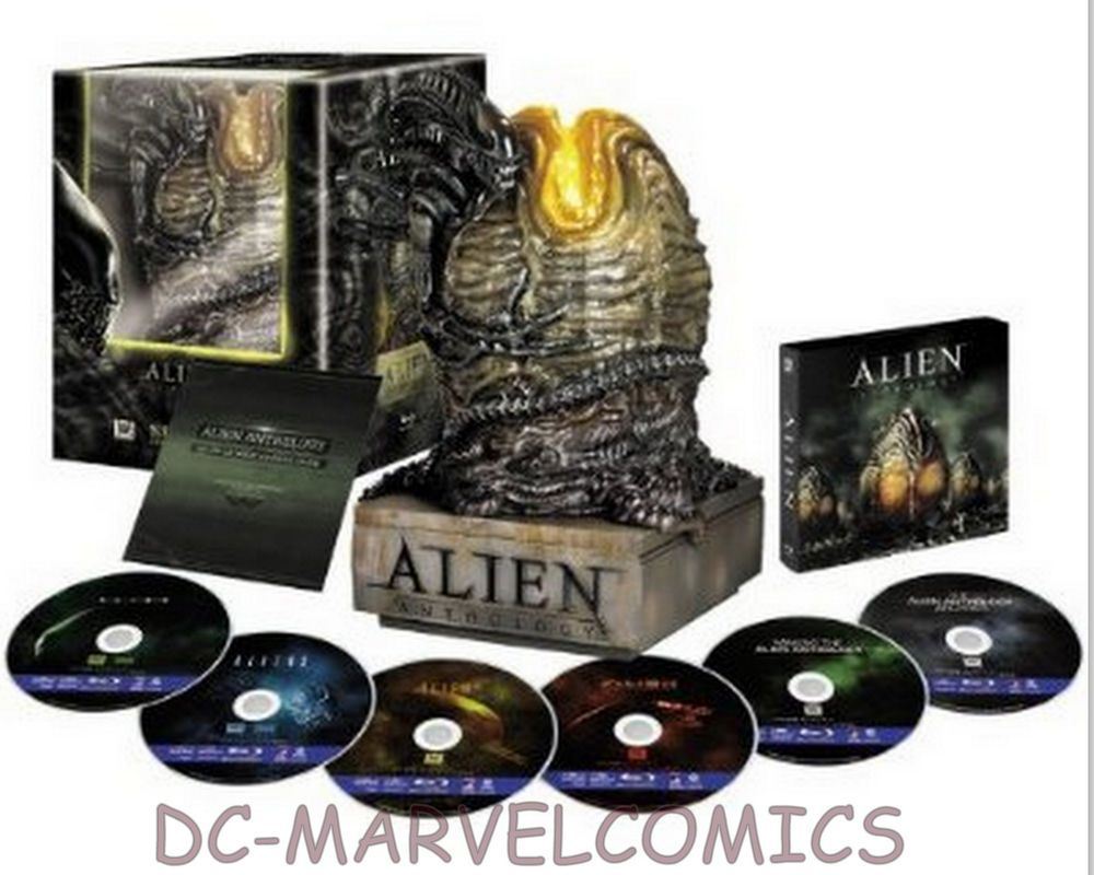 SIDESHOW ALIEN ANTHOLOGY EGG BLU-RAY Collector's Edition limited BOX