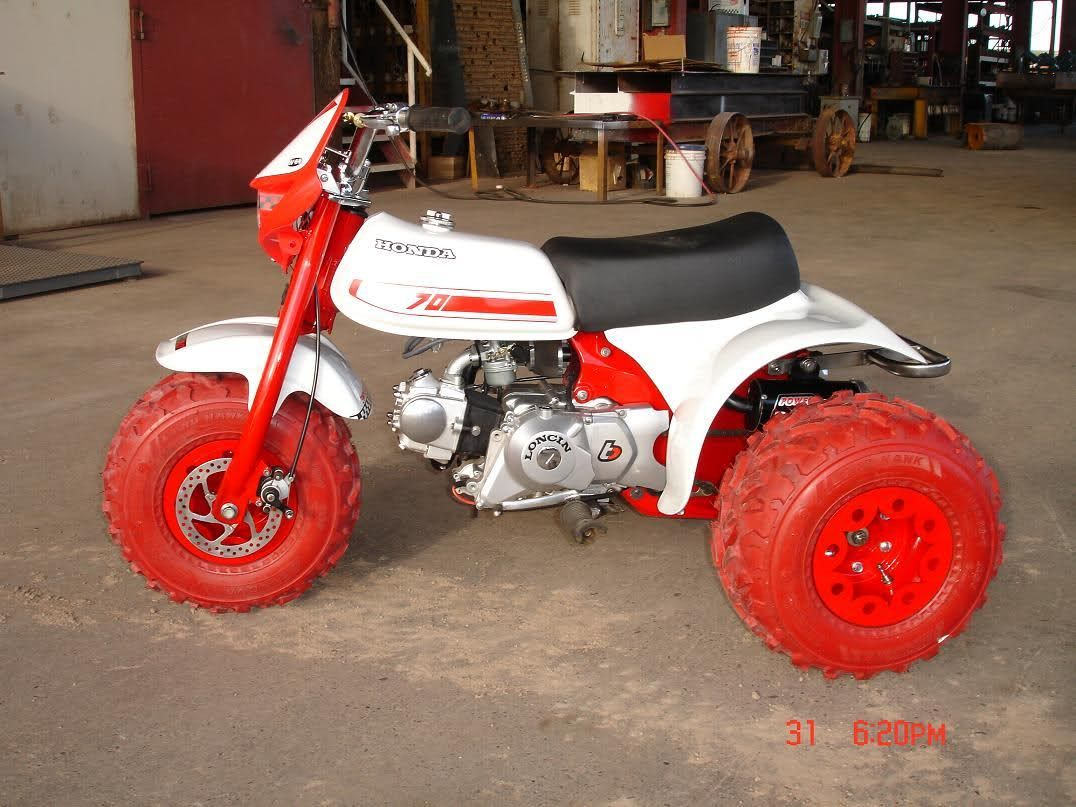 atc 70 build finished Atc, Building, Honda
