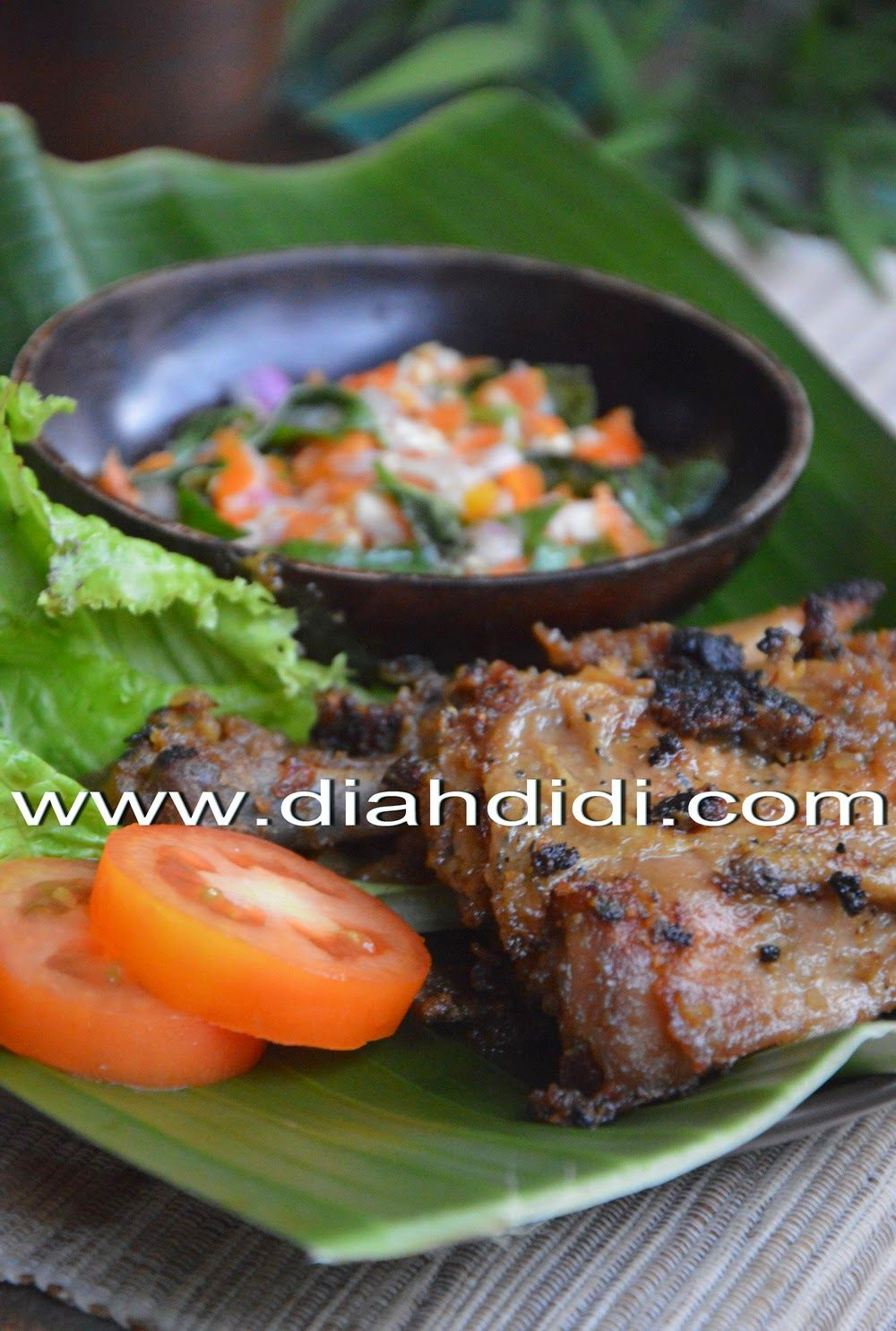 Diah Didi S Kitchen Ayam Bakar Bumbu Terik Resep Masakan Ayam Masakan