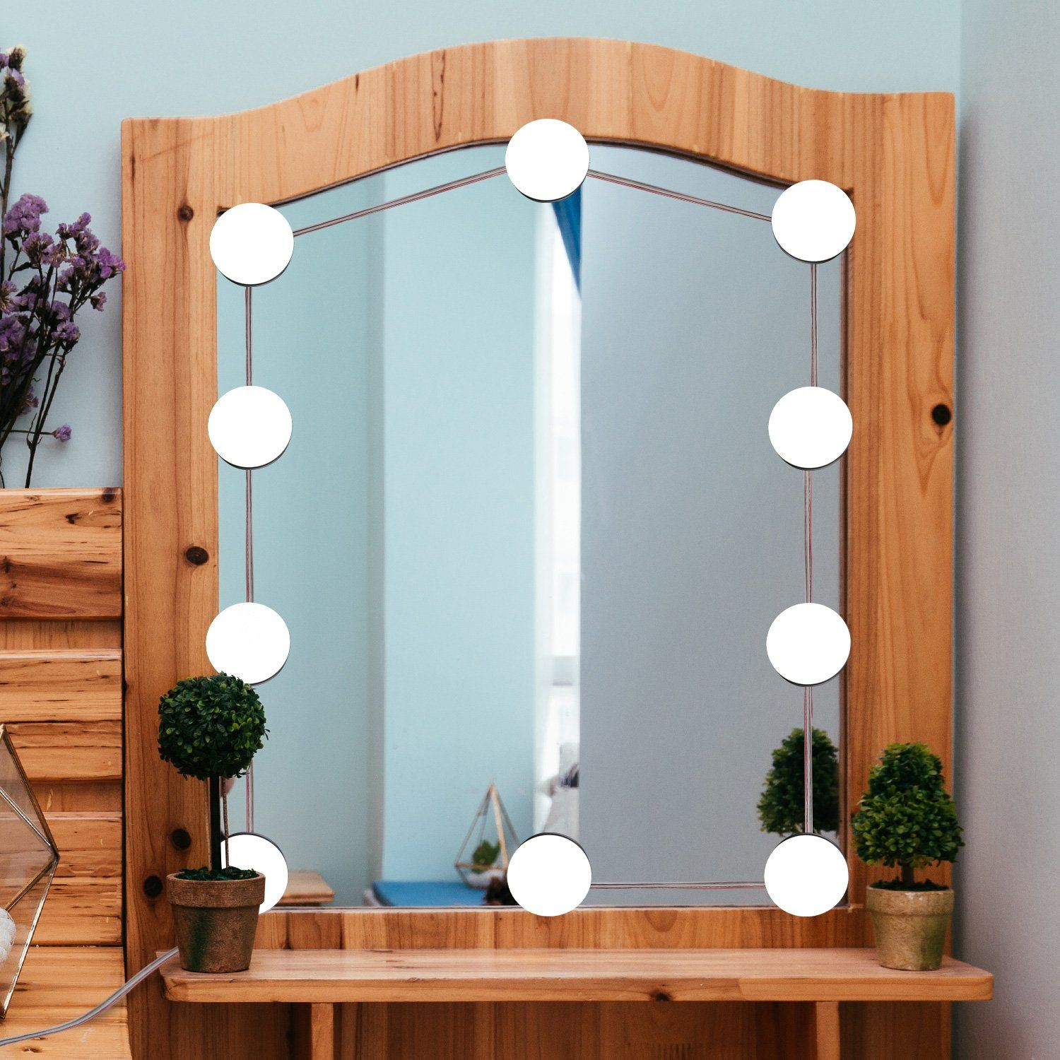 Yifitek hollywood style led vanity mirror lights kit with
