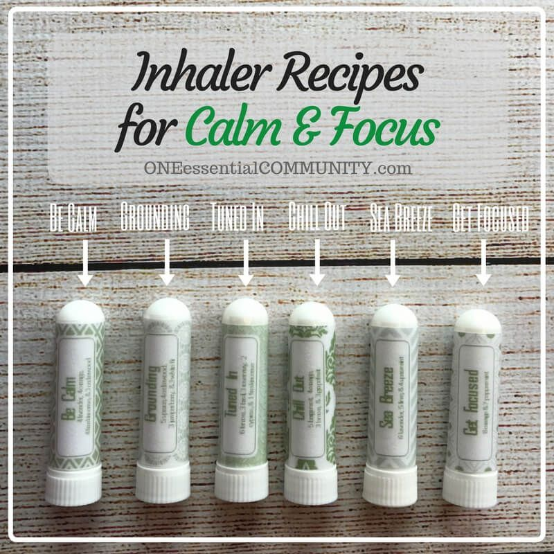 24 Essential Oil Inhaler Recipes For Allergies Headaches Cravings