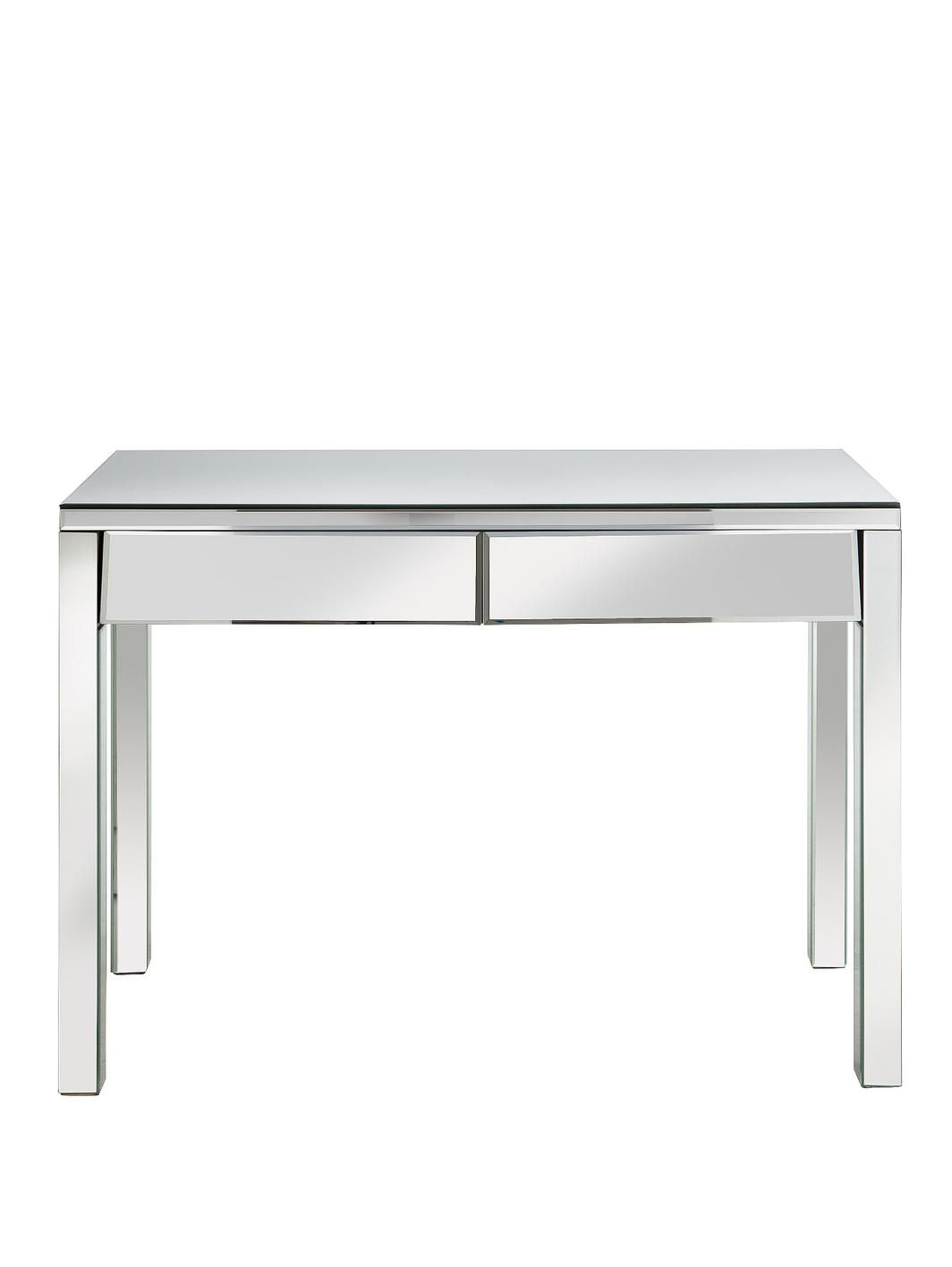 New monte carlo mirrored 2 drawer dressing table http for Womens dressing table