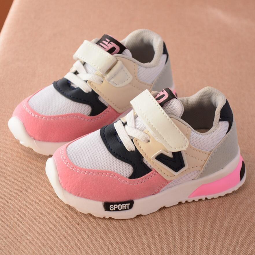 Sport Kinderen Schoenen Nieuwe Herfst Winter Netto Ademend Mode Kids Jongens Schoenen Anti Gladde Meisjes Sneak Toddler Shoes Girls Sneakers Kids Running Shoes