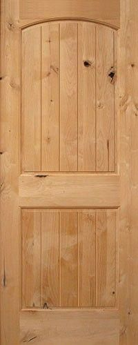 Classic rustic interior door  panel arch  groove also knotty rh pinterest