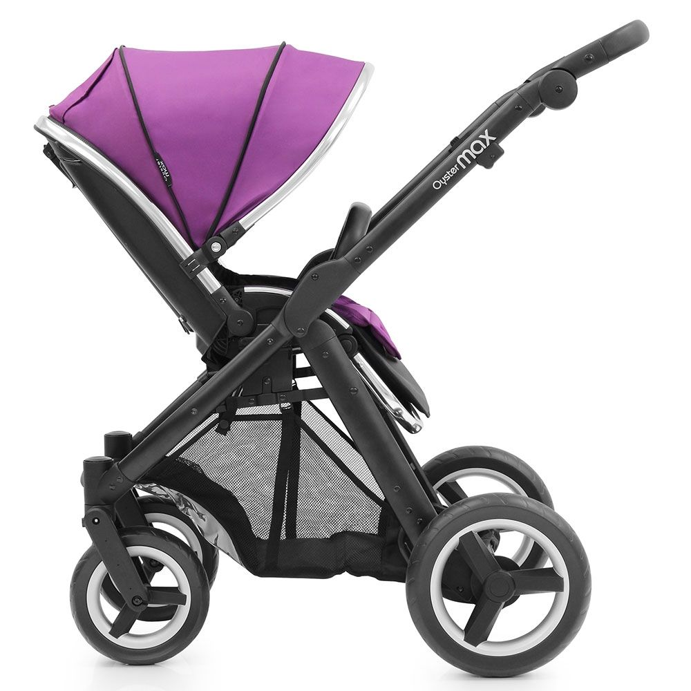 Oyster Pram Purple Babystyle Oyster Max 2 Stroller Black Grape Baby Strollers