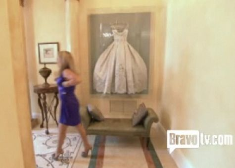Someday I would love this in a walk-in closet ... Adrienne Maloof ...