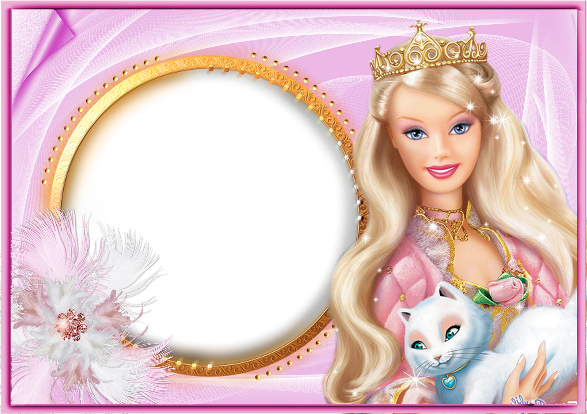 barbie frame Google Search Barbie theme, Barbie