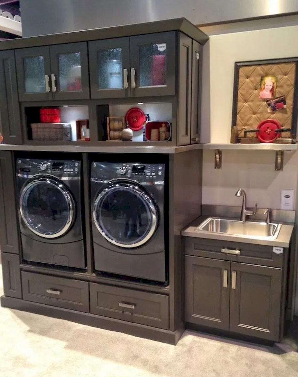 Miraculous How to design a small laundry room