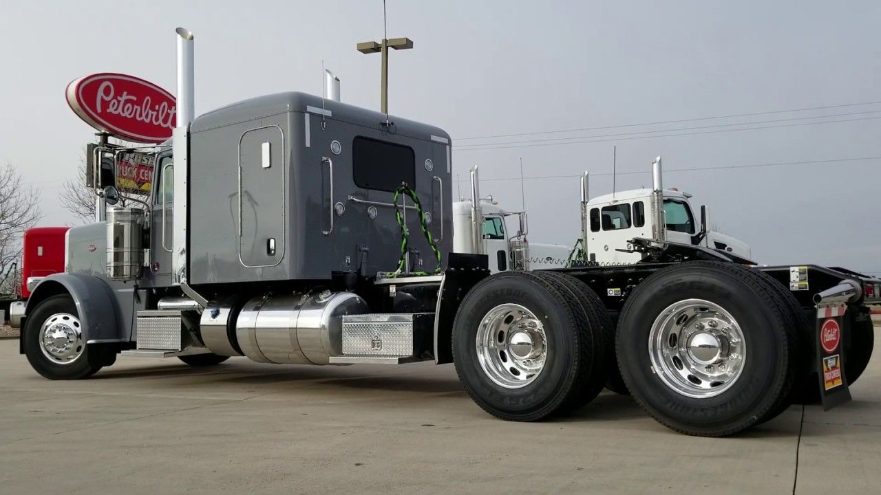 "2019 Peterbilt 38972"" Flat Top North Sea GreyJW 970518"