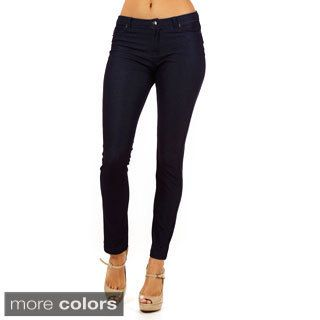 Dinamit Women's Golden Tight Knitted Texture Pants $27.00