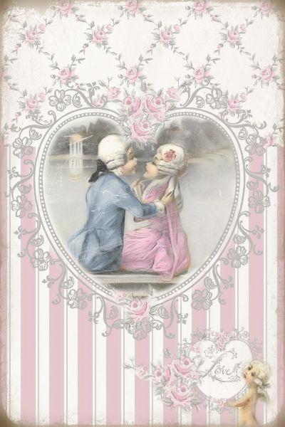 JanetK.Design Free digital vintage stuff: Love en Rebelse schrijfsels