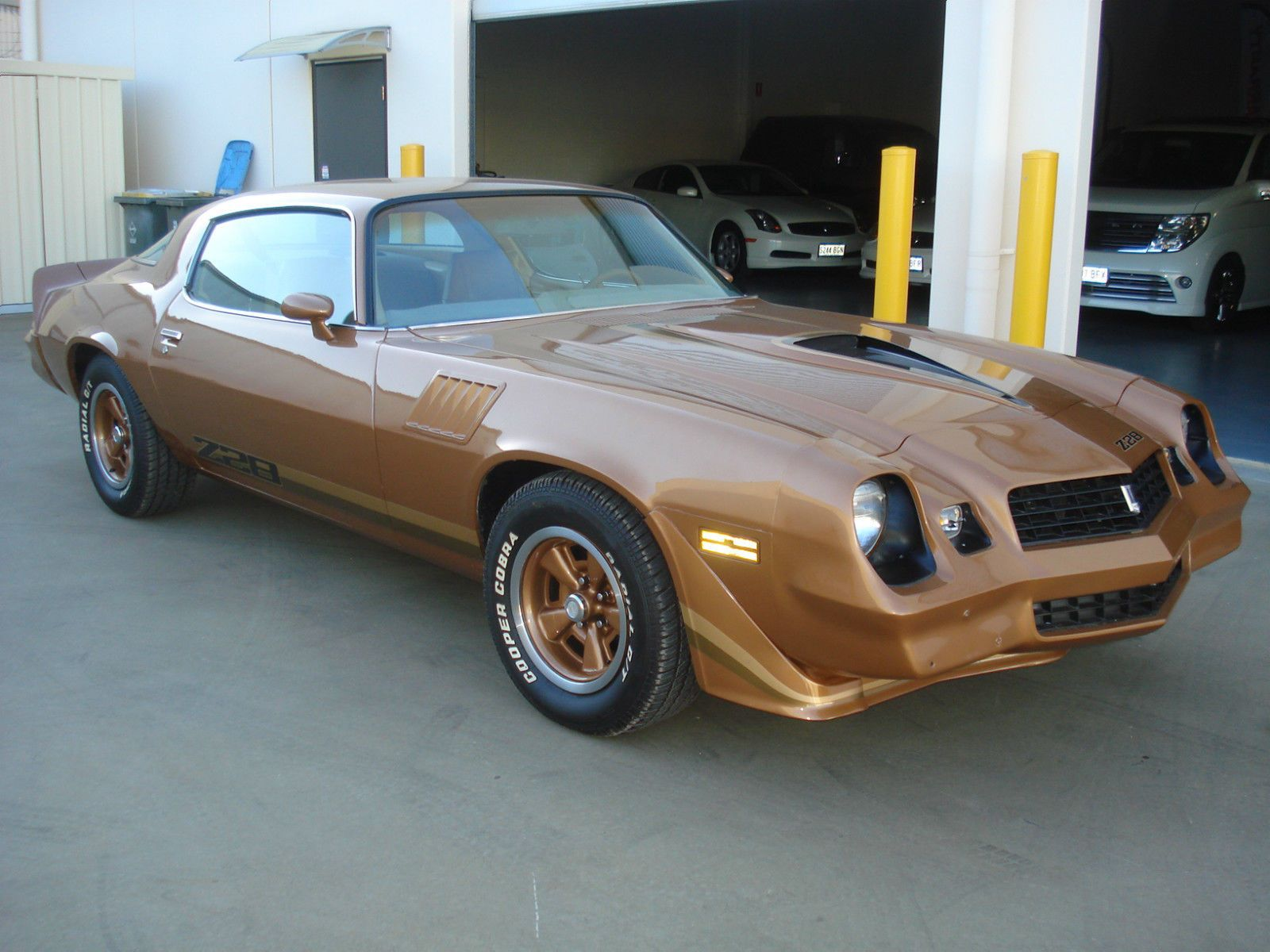 1979 Model Chevrolet Z28 Camaro .Recent LHD import . There