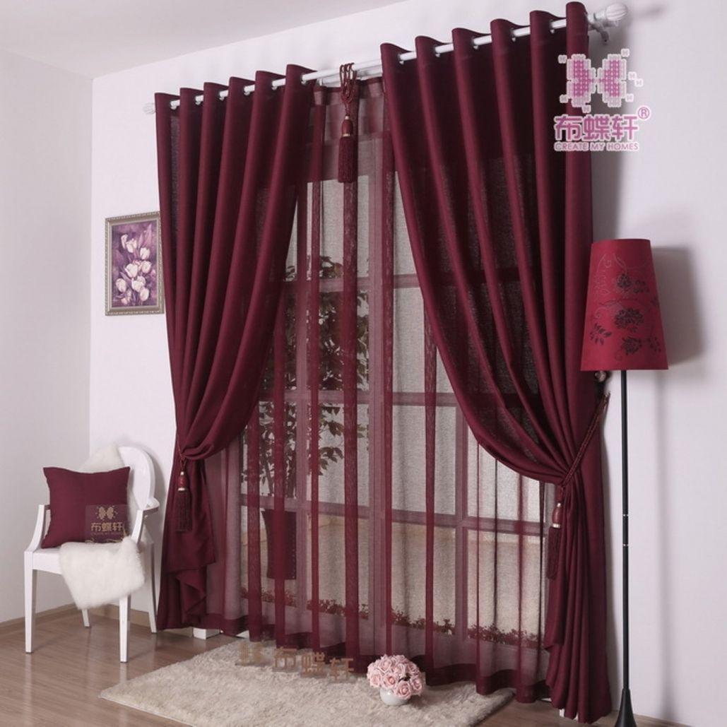 rideaux salon moderne