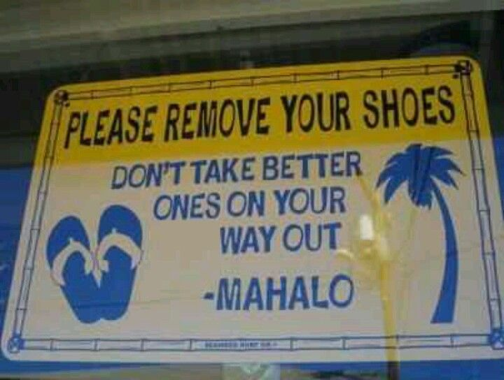 Please Hemo Your Shoes Hawaii Pinterest