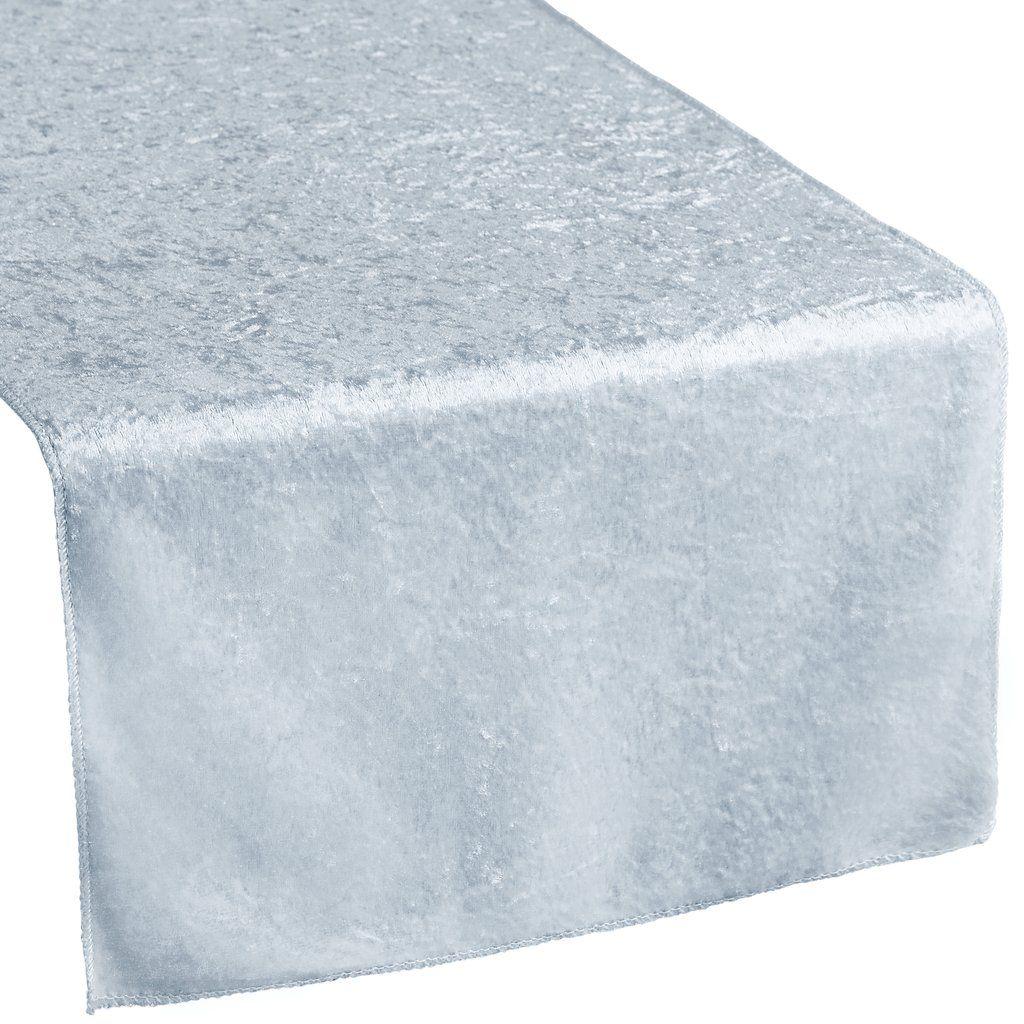 Velvet Table Runner Dusty Blue in 2020 Dusty blue