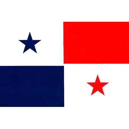 Flags · panama flag vinyl sticker