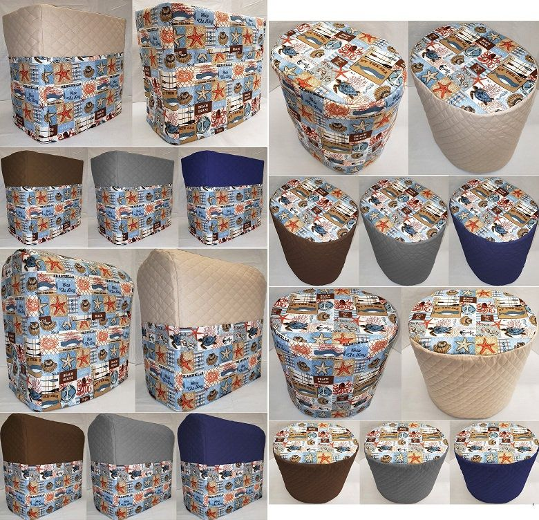 Custom beach house matching appliance cover set etsy in