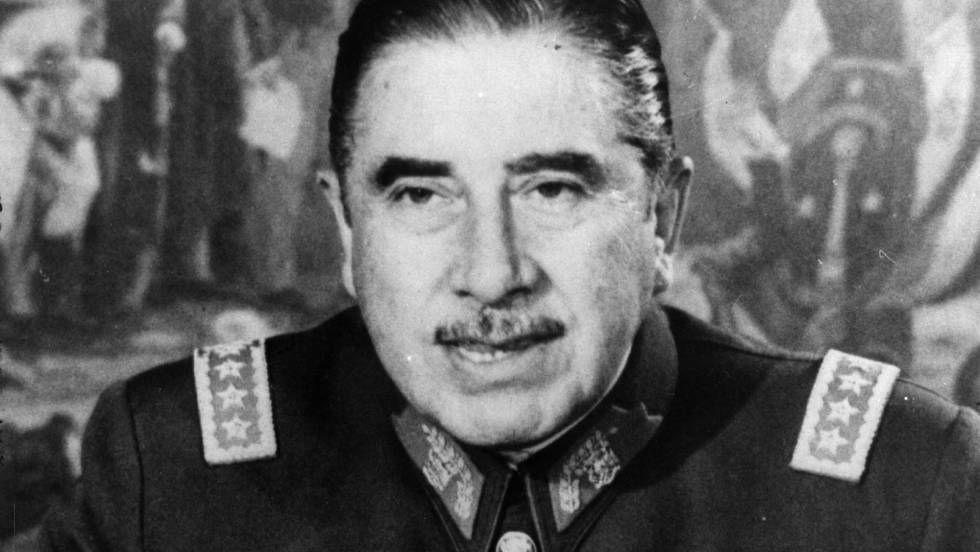 El dictador chileno Augusto Pinochet