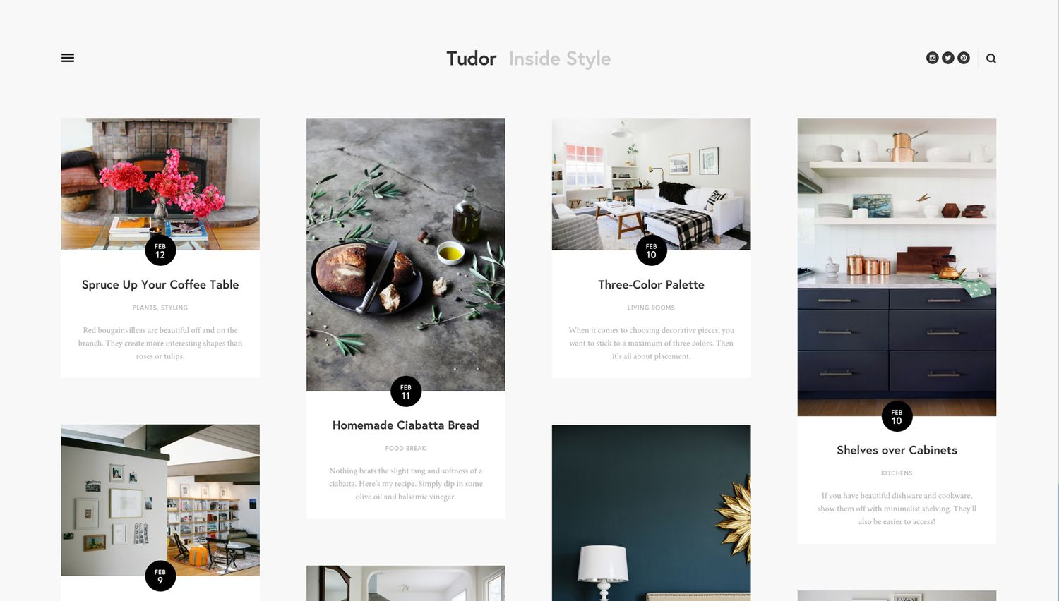 Tudor Website Template Squarespace With Images Squarespace