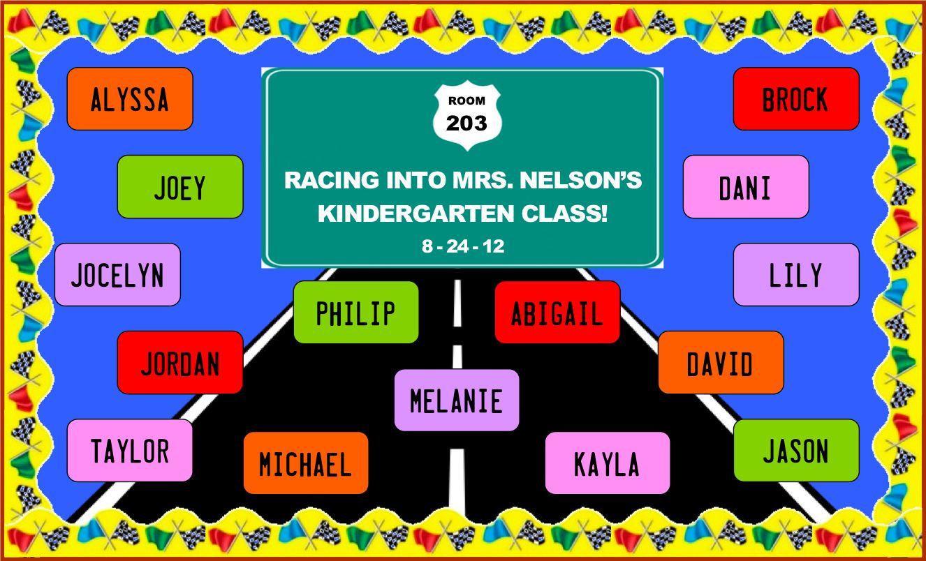 Racing Into Kindergarten