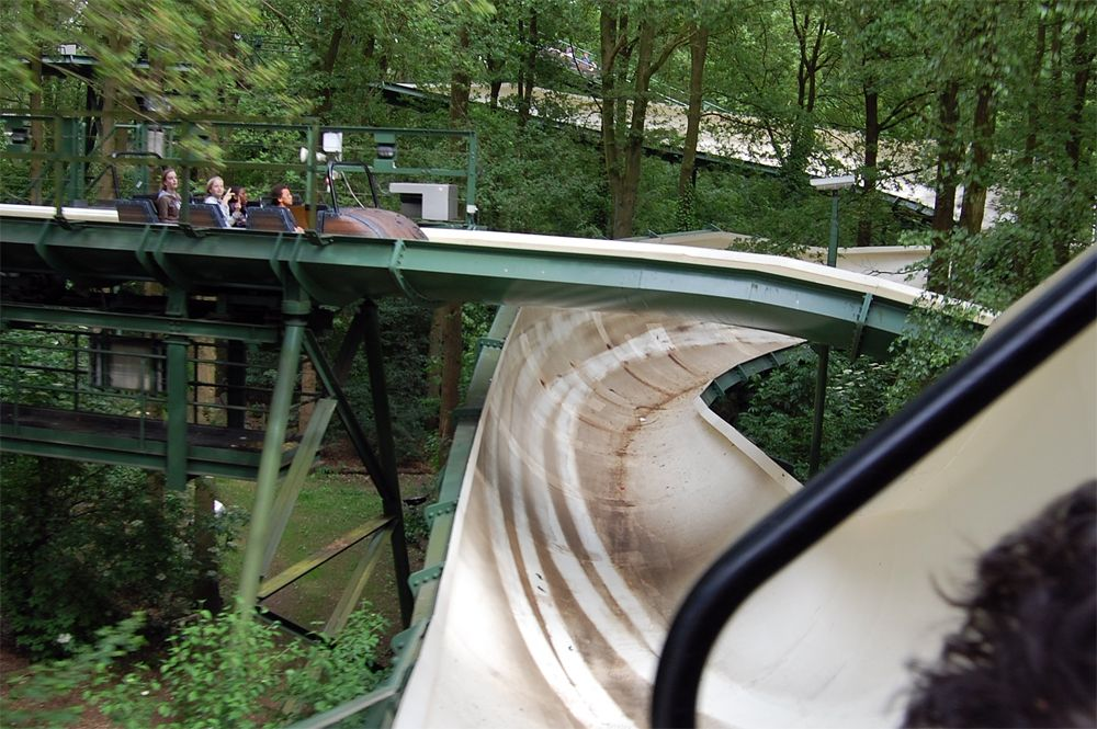 Efteling Removing One of the Last Bobsled Rides?