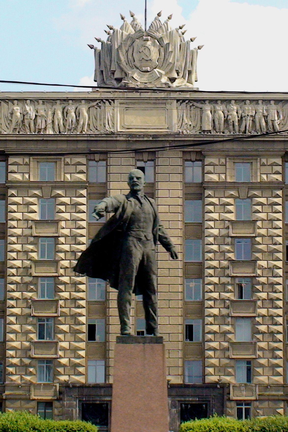 Lenin in St. Petersburg.  #monogramsvacation