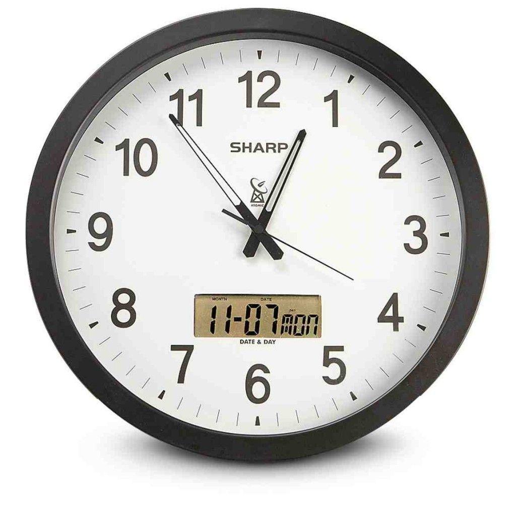 Sharp Atomic Wall Clock Atomic Wall Clock Clock Wall Clock Simple