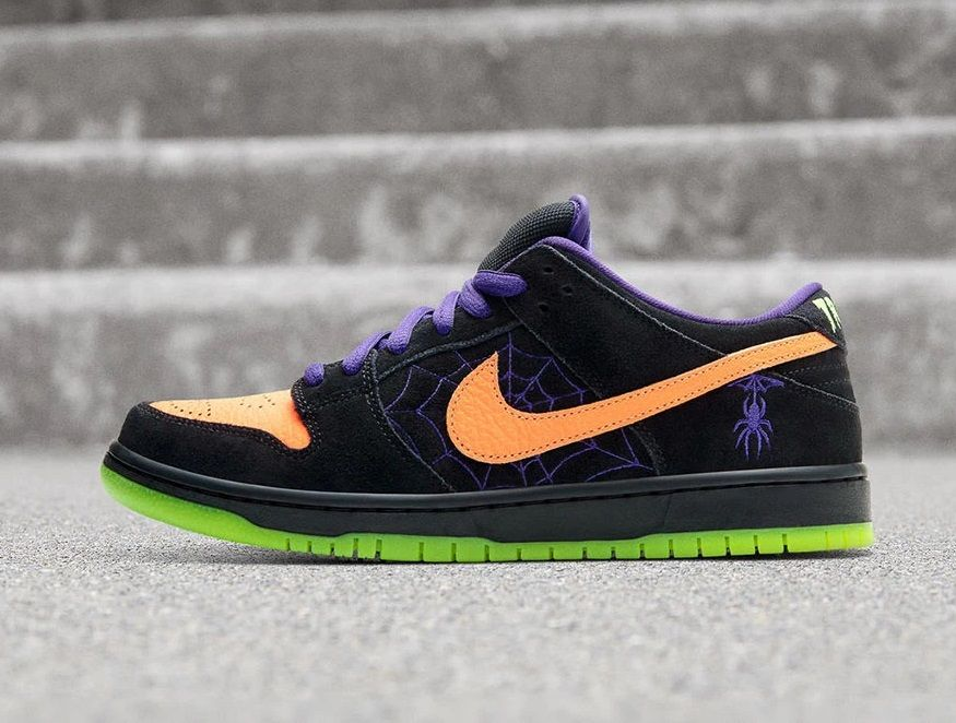 Nike Sb Dunk Night Of Mischief Nike Sb Nike Sb Dunks Nike Skateboarding