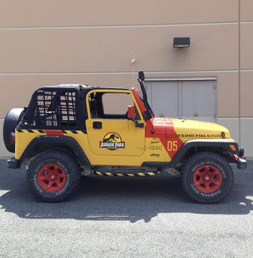 Jurassic Park Jeep Kit - The Gifts Guy