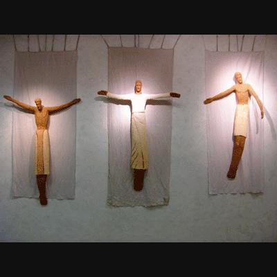 Yan Vita Sculptures Du Rosaire Candle Sconces Sculptures Wall Lights