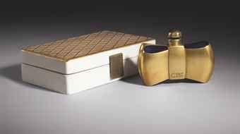 En 1937 De Parfum Coque Forme Jbaccarat Guerlain Flacon D'or Pour clFK1J