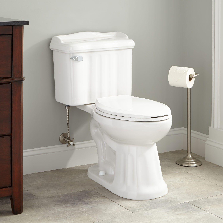 armsteadsiphonictwo pieceelongatedtoilet - Two Piece Bathroom Ideas