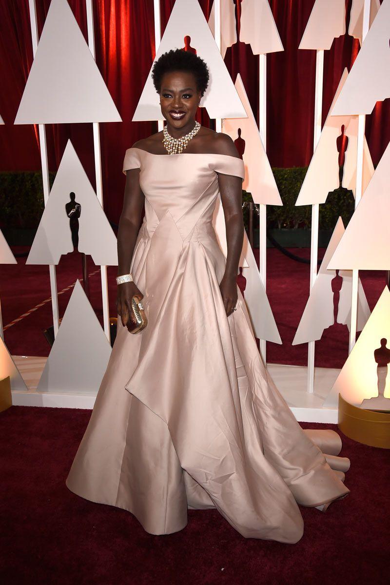 Viola Davis in Zac Posen - Oscars 2015 | Red carpet | Pinterest ...