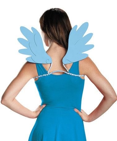 Look what I found on #zulily! My Little Pony Rainbow Dash Wings - Adult…