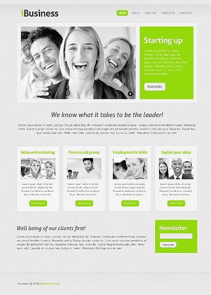 Business website template simple web design web design news and business website template 38979 accmission Image collections