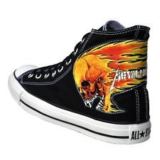 25707d52165b CONVERSE CHUCKS METALLICA SCHWARZ METAL LIMITED EDITION WACKEN ...