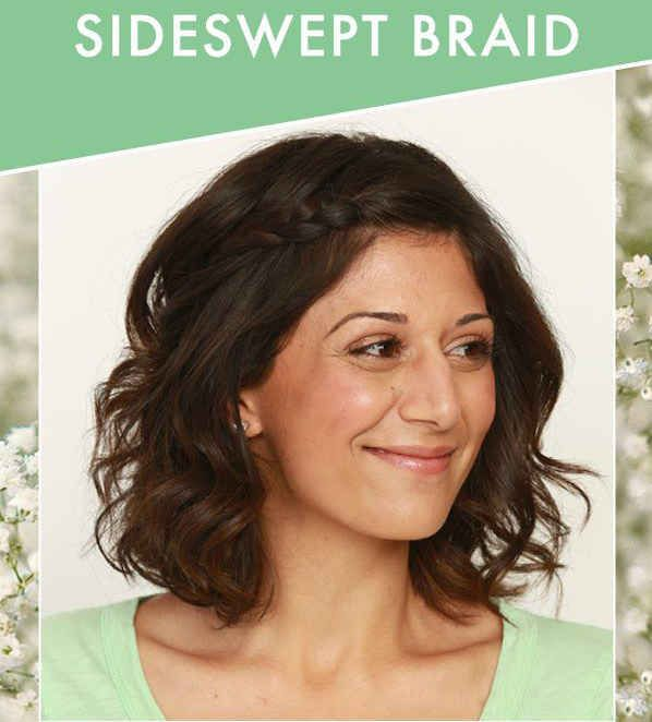 The sideswept braid 31 gorgeous wedding hairstyles you can the sideswept braid 31 gorgeous wedding hairstyles you can actually do yourself solutioingenieria Choice Image