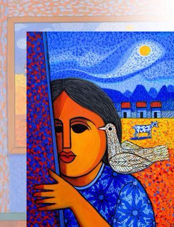 Pintura De Candido Bido Caribbean Art Fine Art Painting Latino Artists
