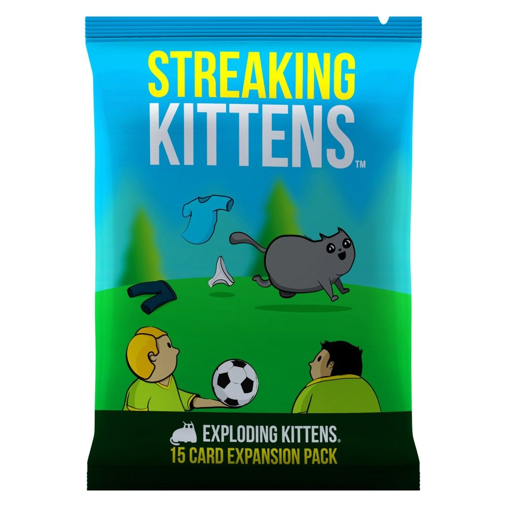 Streaking Kittens Game Second Expansion Of Exploding Kittens Exploding Kittens Card Game Exploding Kittens Happy Families Card Game