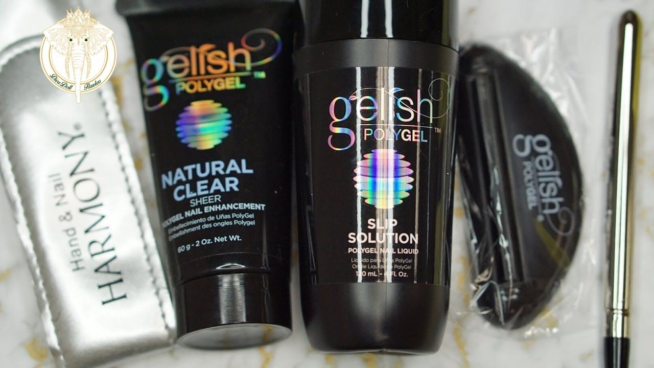 Gelish Polygel Trial Kit Unboxing First Impressions 2017 Divadollf Gelish Polygel Nail Enhancement Polygel Nails
