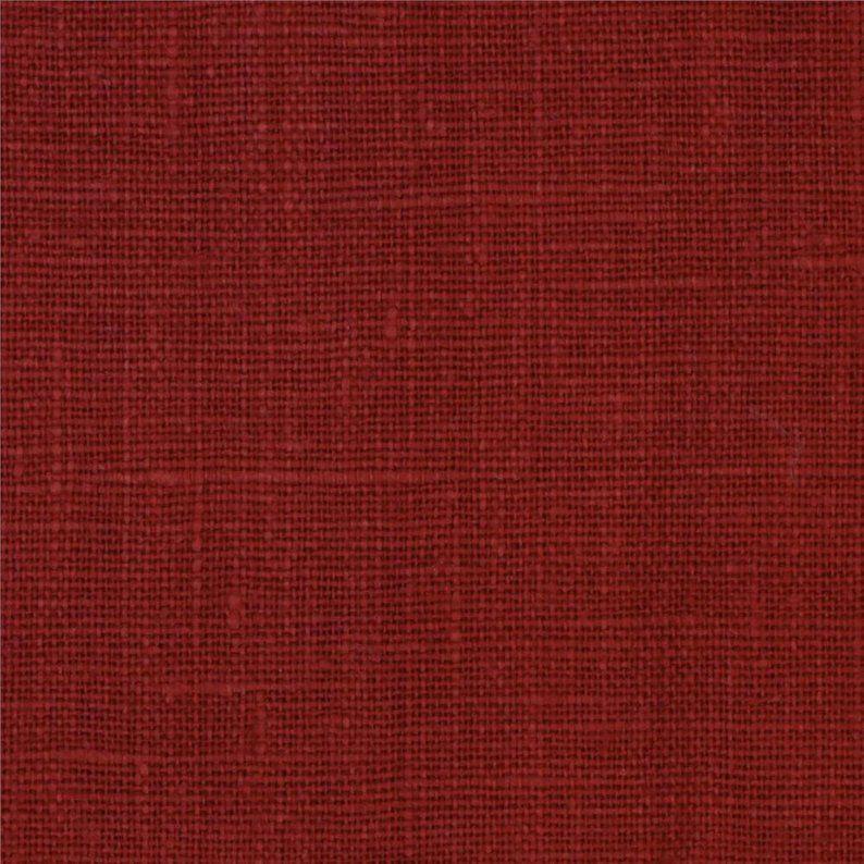 Kitchen Dining Chair Cushions With Ties European Linen European Linens Red Oak Linen