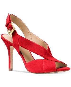 27bd049683f6 Michael Michael Kors Becky Dress Sandals - Pink 9M