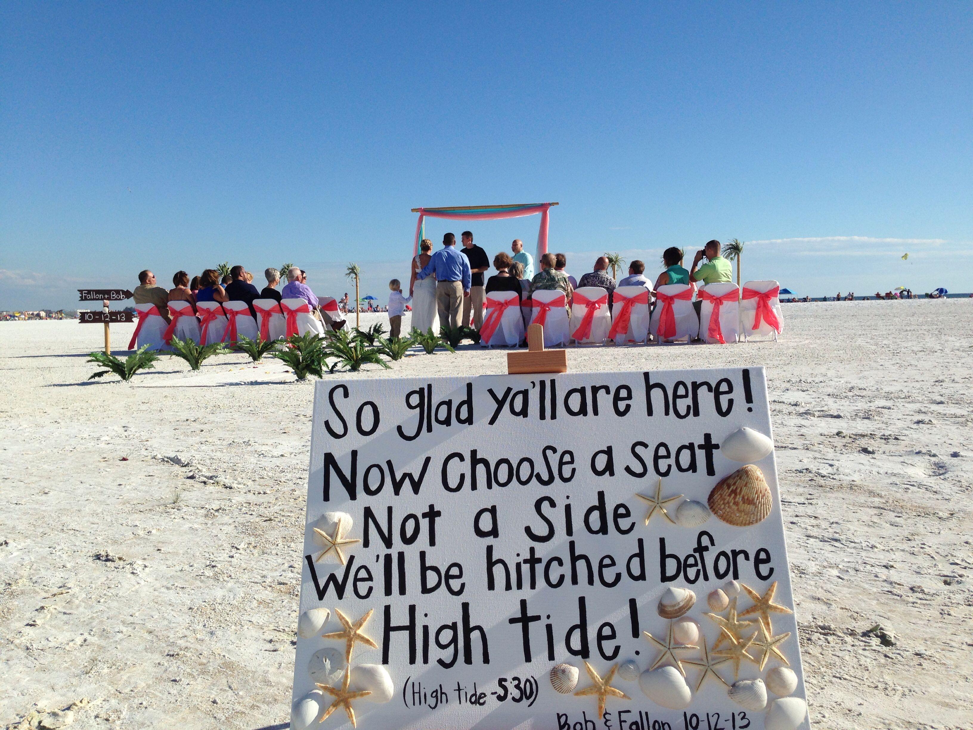 Beach Wedding In Florida Beach Destination Wedding Florida