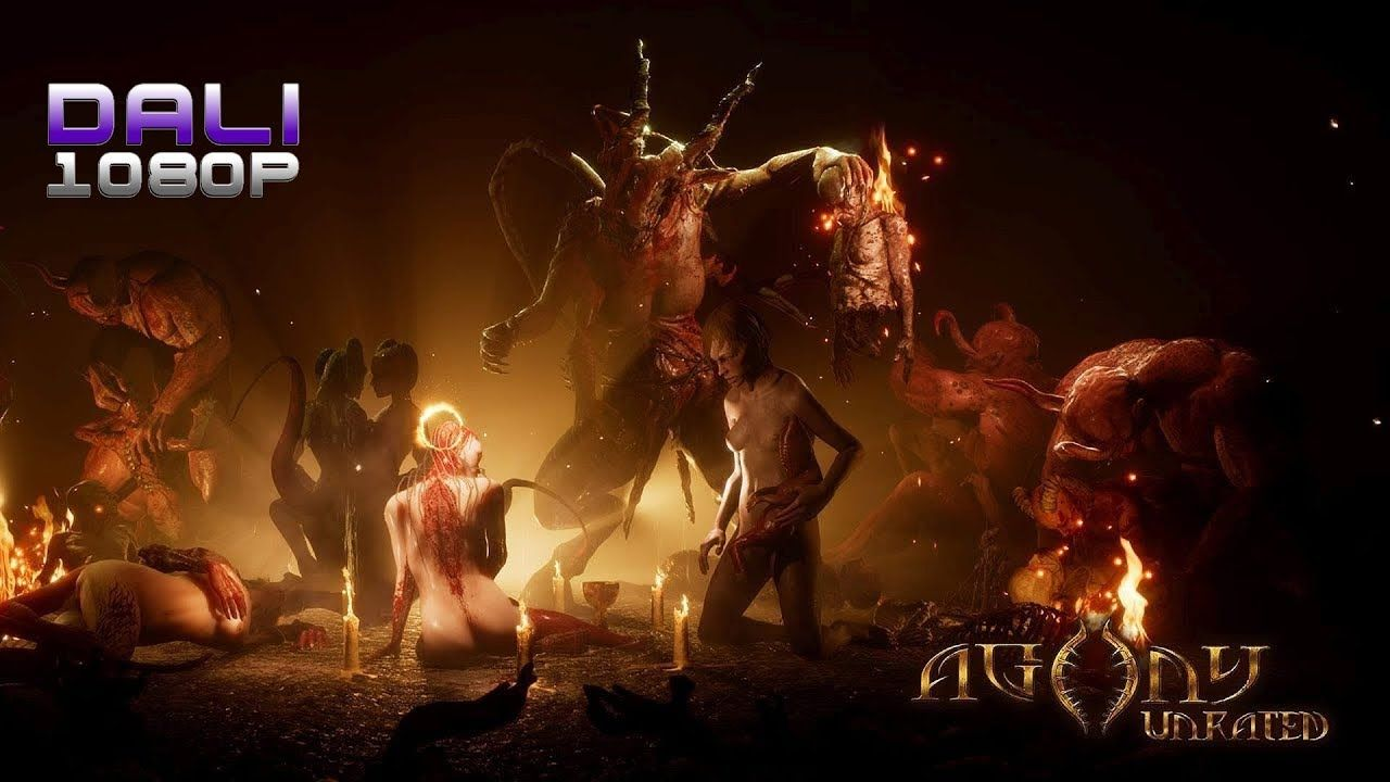 Agony Unrated - Succubus Mode pc gameplay 1080p 60fps #Agony