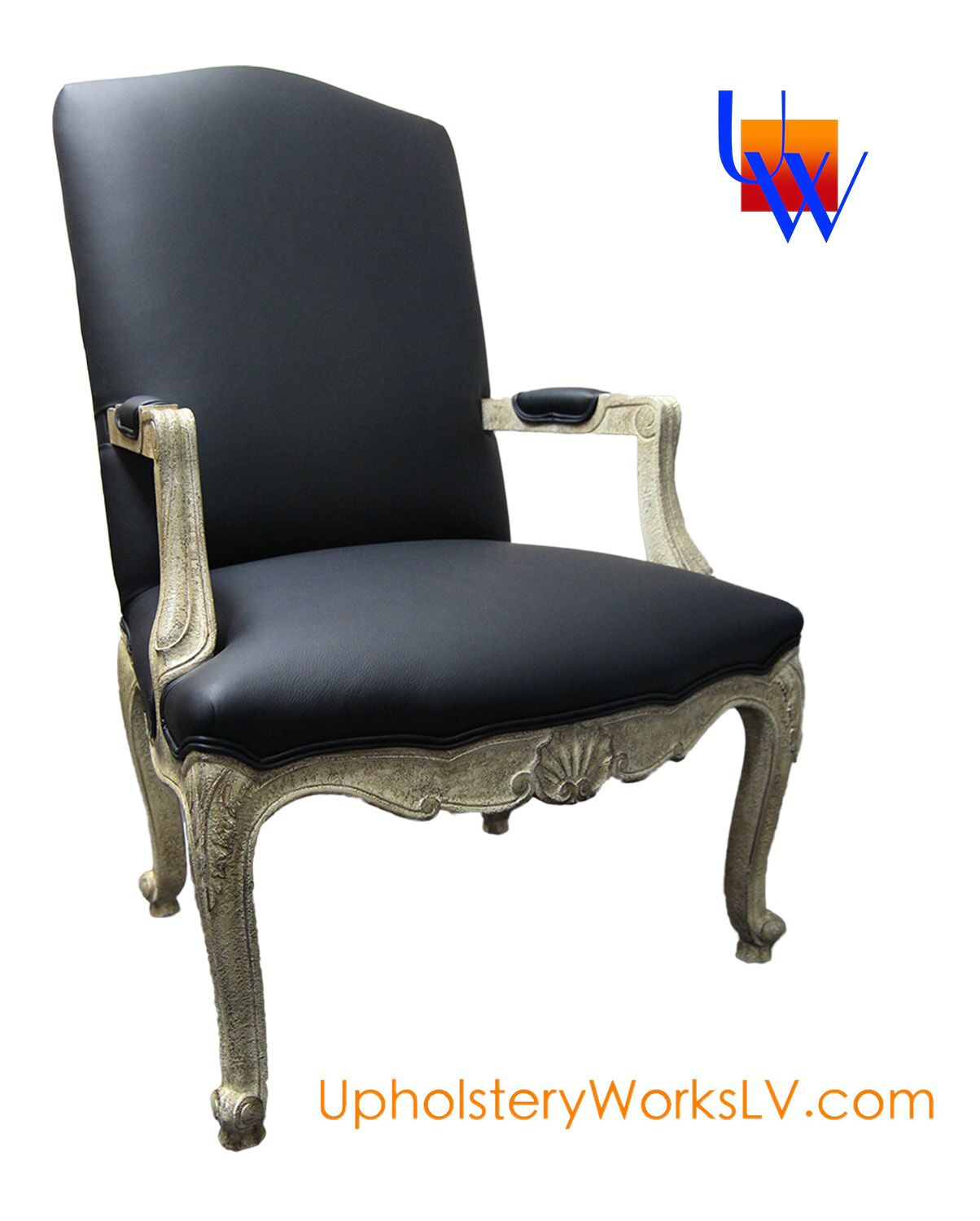 Vintage Genuine Leather Chair Furniture: Upholstery By Upholstery Works In Las  Vegas. Http: