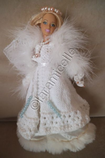 tuto gratuit barbie robe de marie